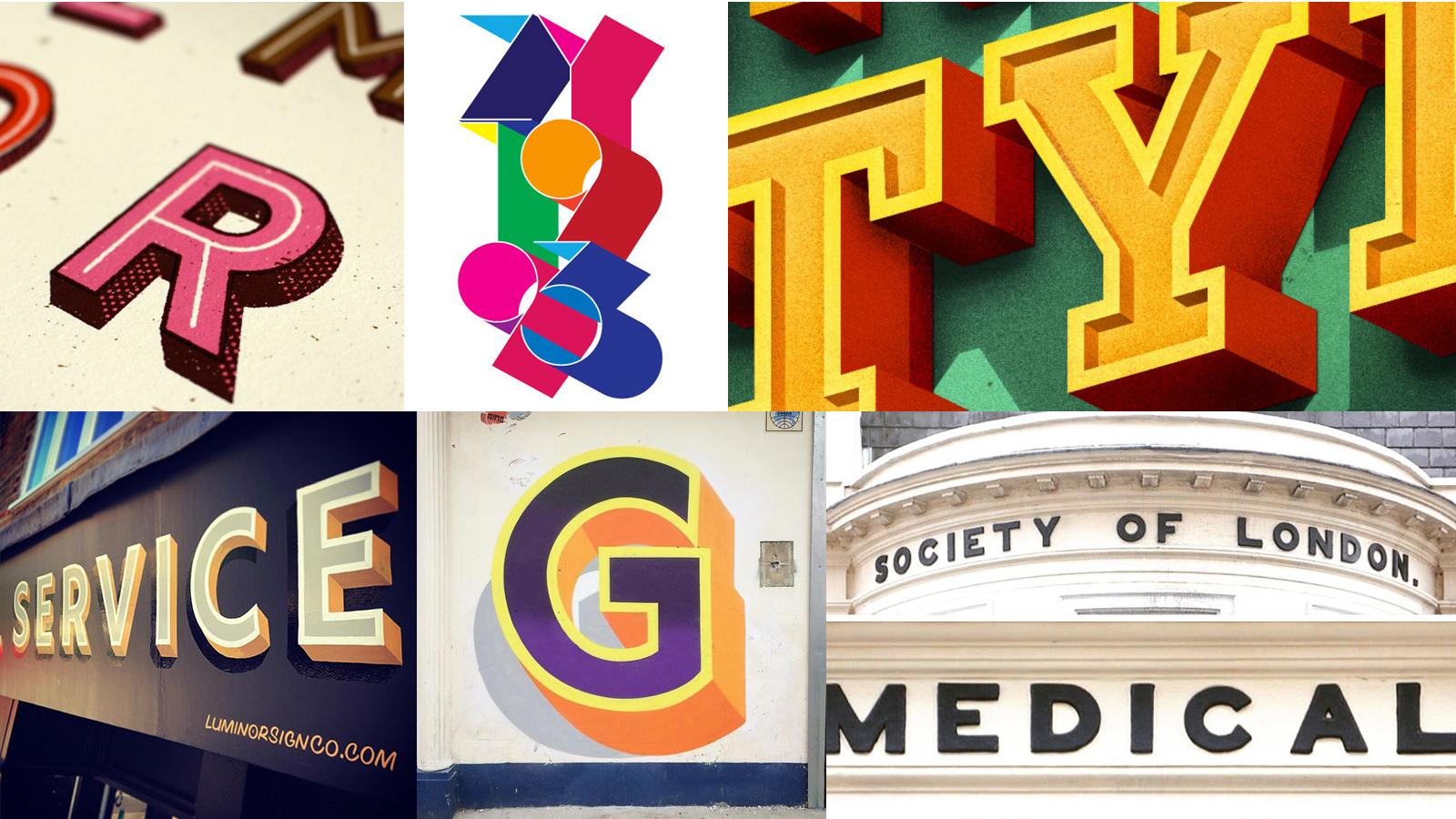 inspiration for creating type