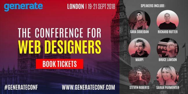 Generate London 2018 speakers