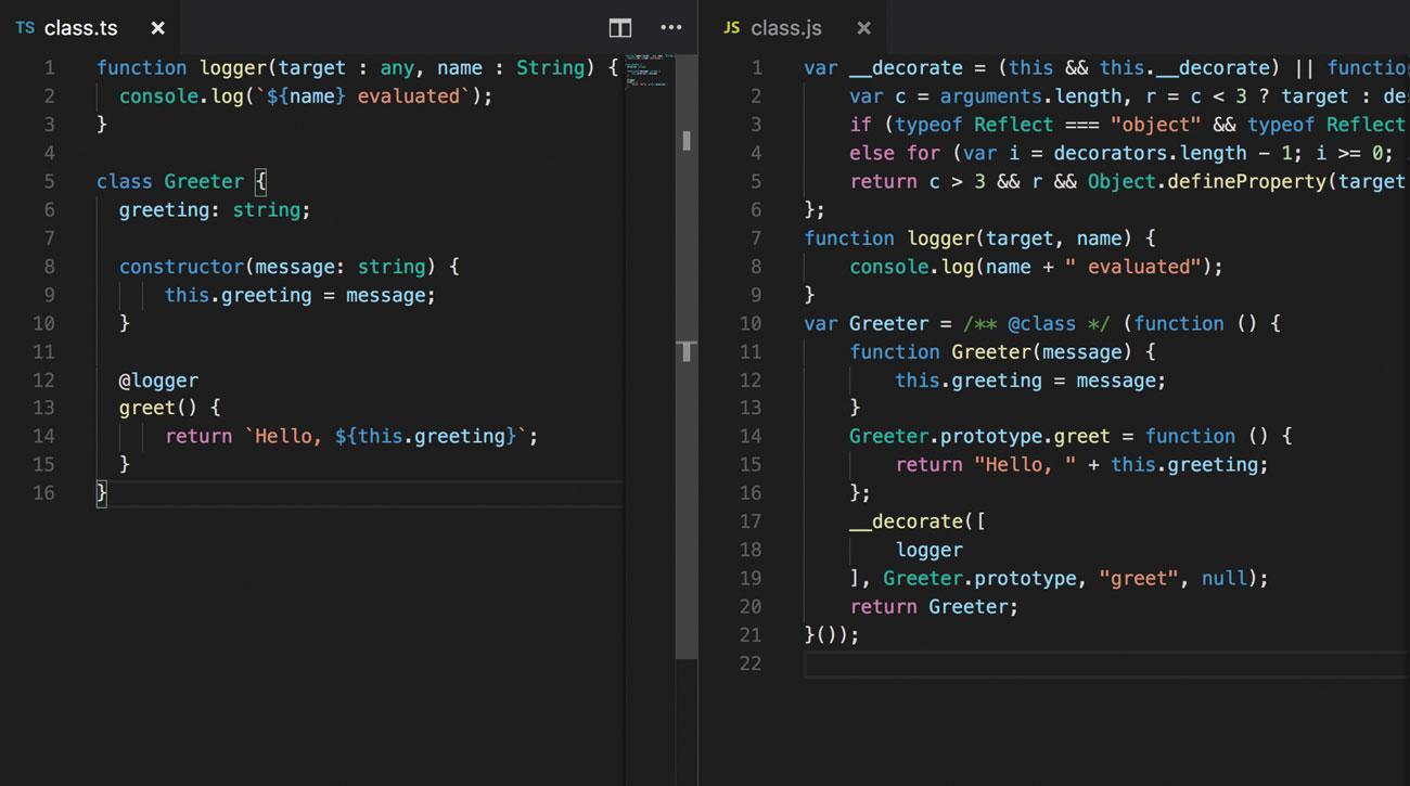 TypeScript tool
