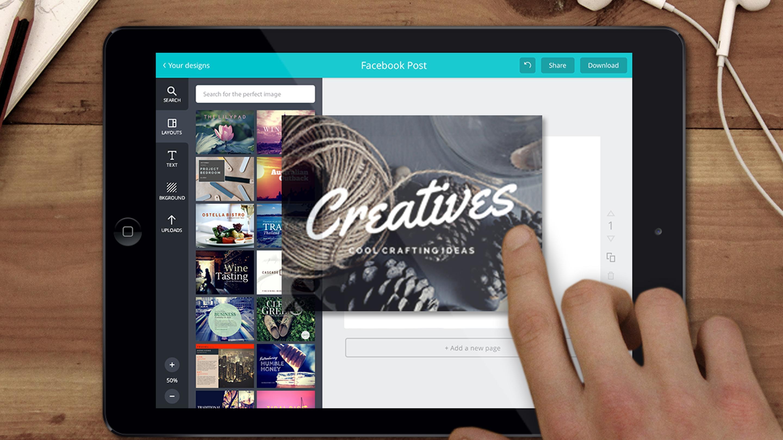 Canva iPad app