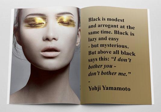 Best brochure templates: fashion
