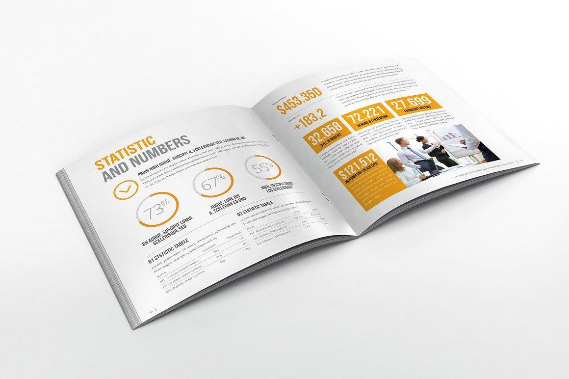 Best brochure templates: annual report brochure