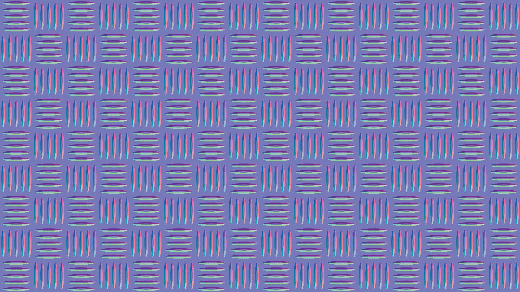 Metallic mesh pattern