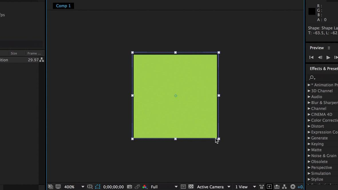 Design a branded loading animation: Make some shapes