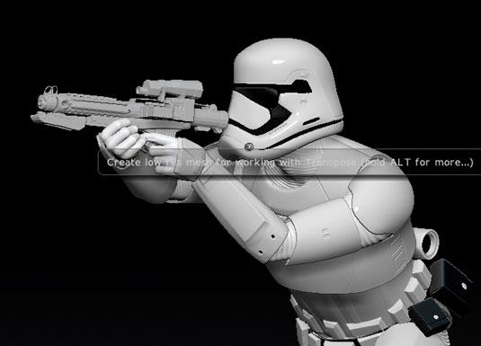 Model a Force Awakens Stormtrooper