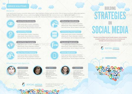 Best brochure templates: social media