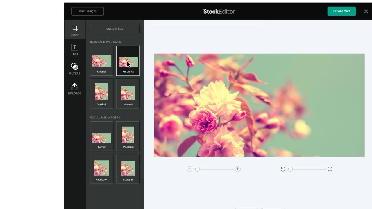 iStock Editor