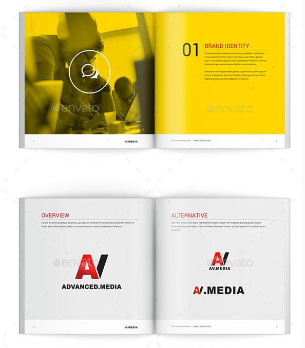 Best brochure templates: Brand identity