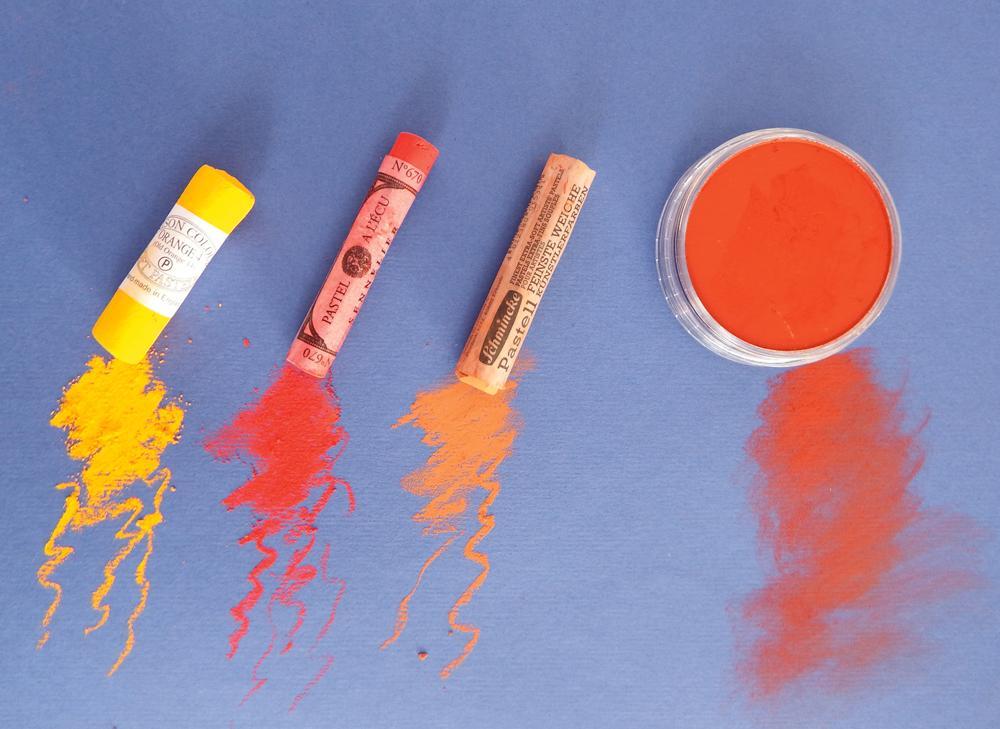 professional-quality pastels