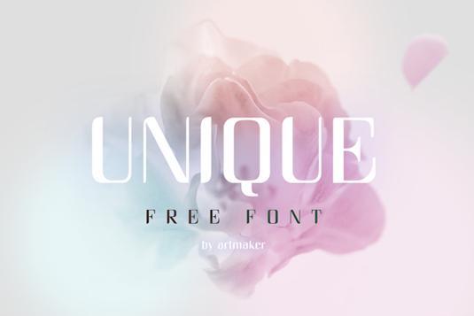 free retro fonts: Unique