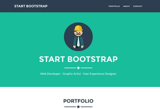 Free Bootstrap themes - Freelancer