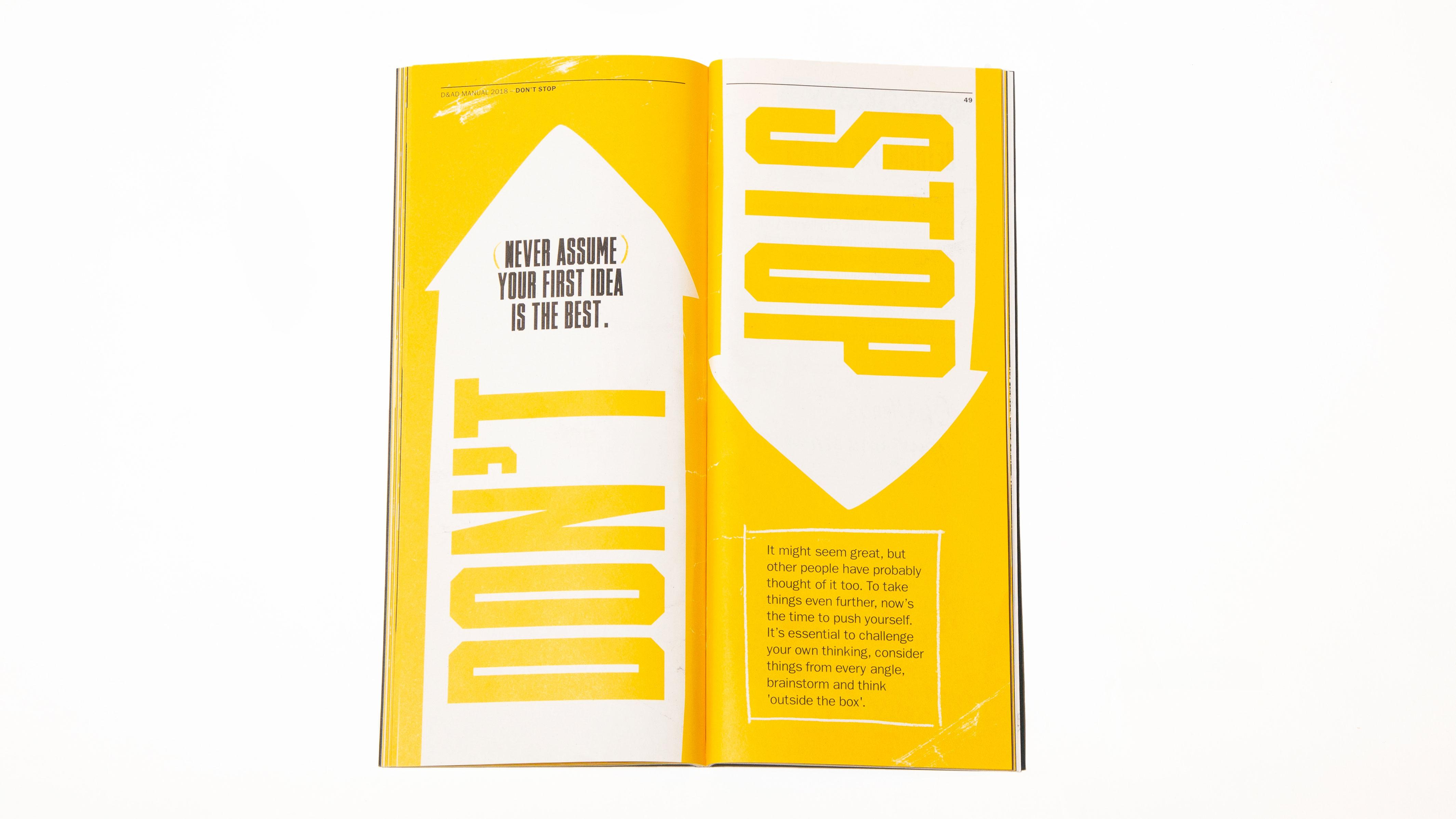 The Manual contains wisdom on how young creatives can succeed