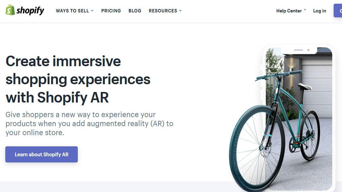 Shopify AR