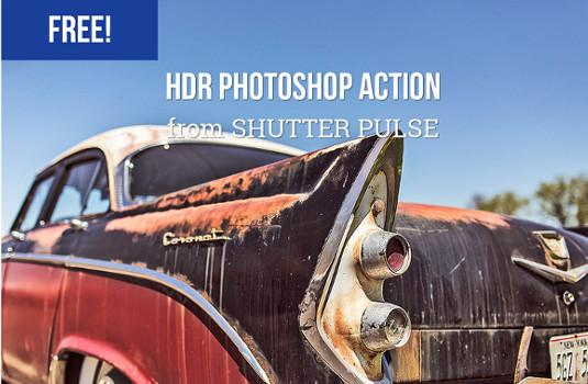 Free Photoshop actions: Strong HDR Effect