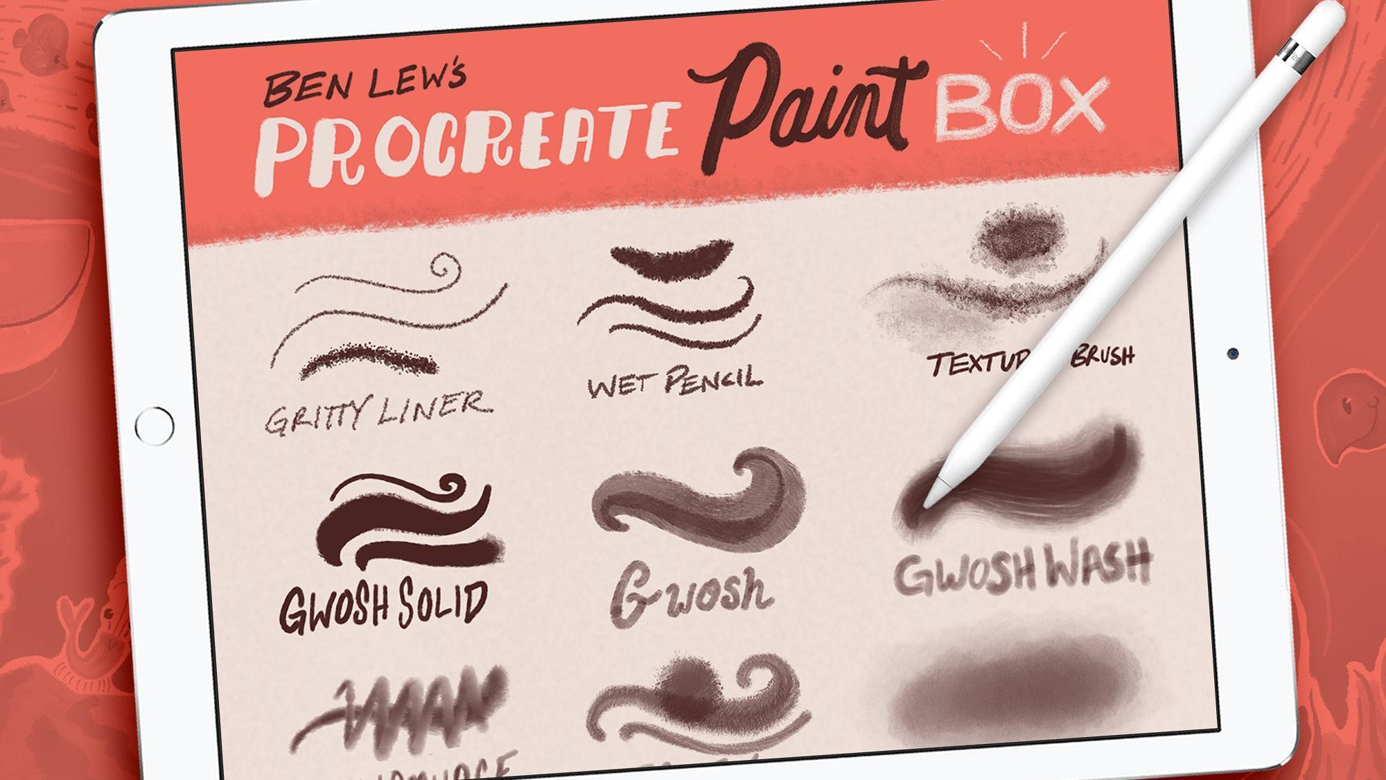 Procreate Paint Box Procreate brushes