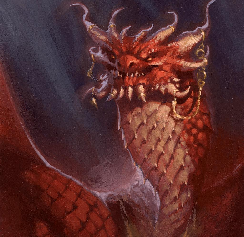 different edges in a dragon