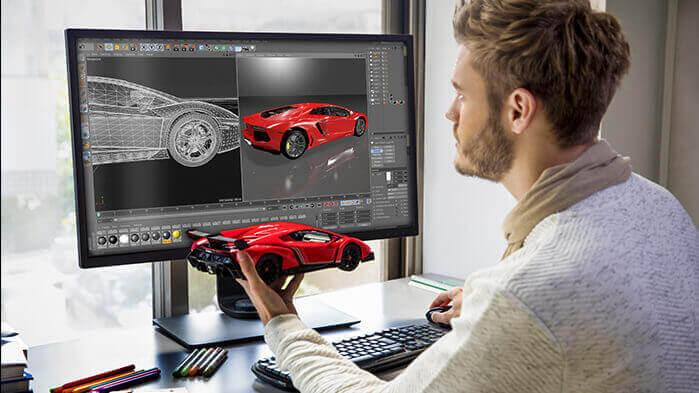 BenQ's PD monitor range allows artists and designers to fulfill their full potential