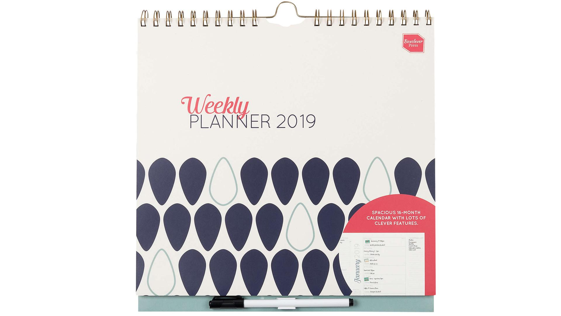 Boxclever Press 2019 Weekly Planner