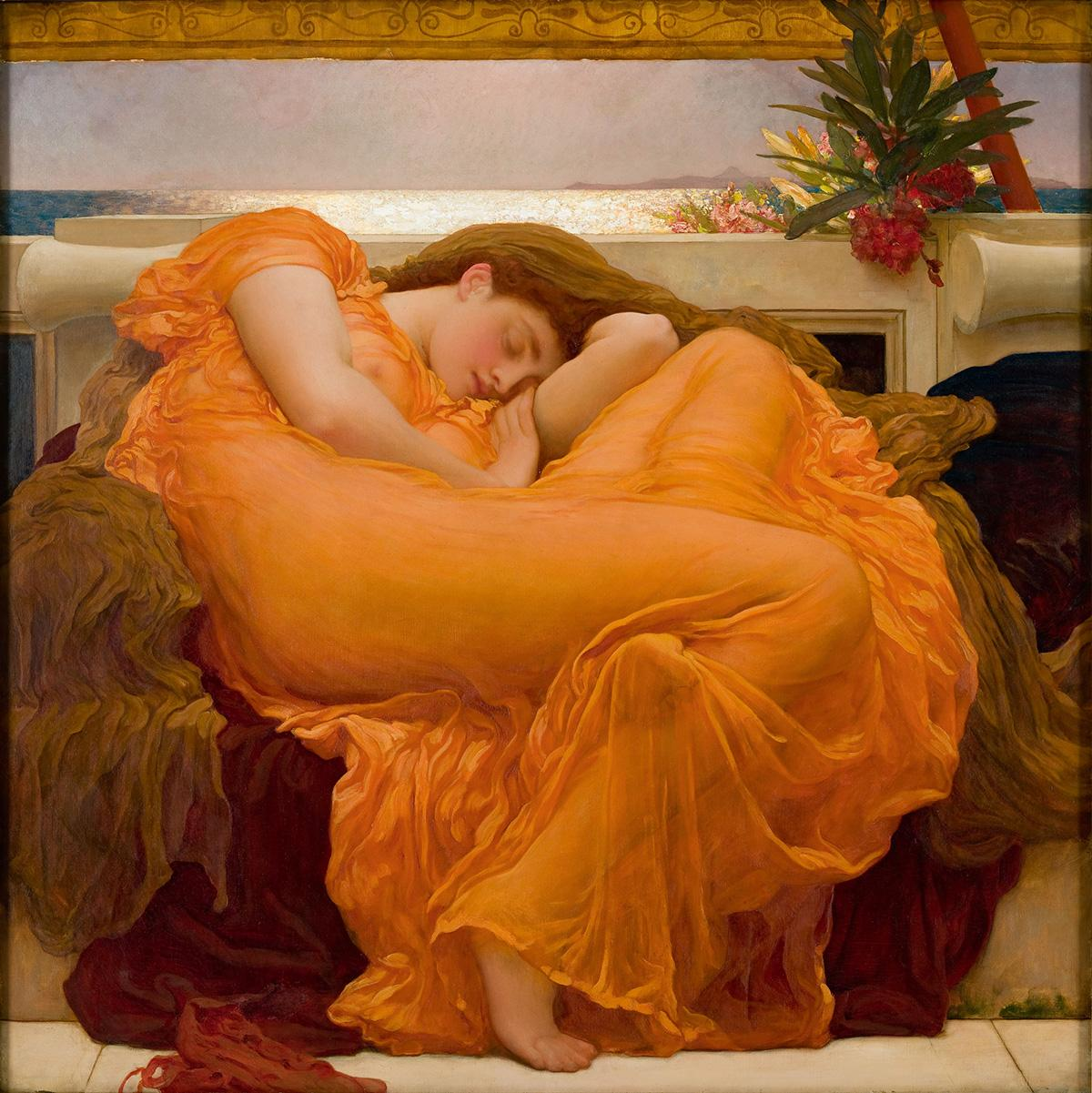 Flaming June by Frederic Leighton,