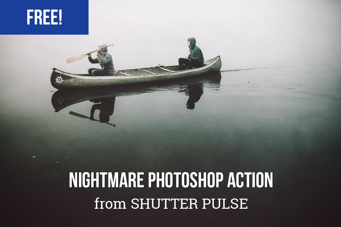 Free Photoshop actions: Nightmare