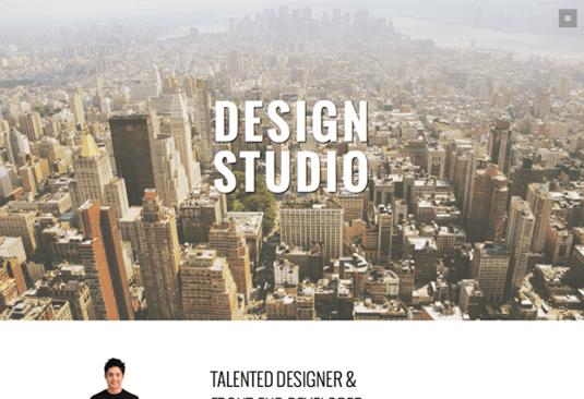 Free Bootstrap themes - Studio