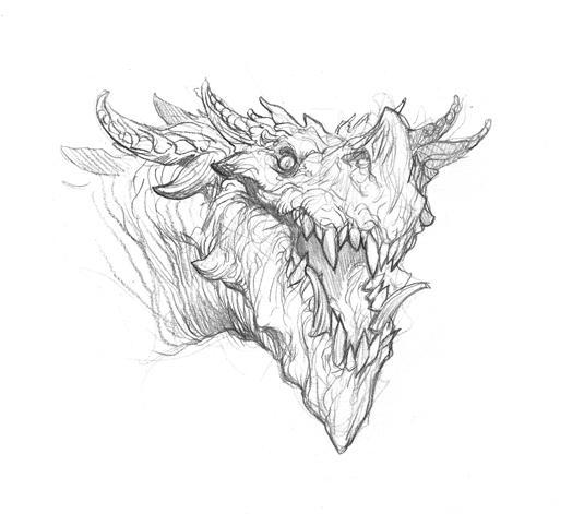 How to draw a dragon - symbolism