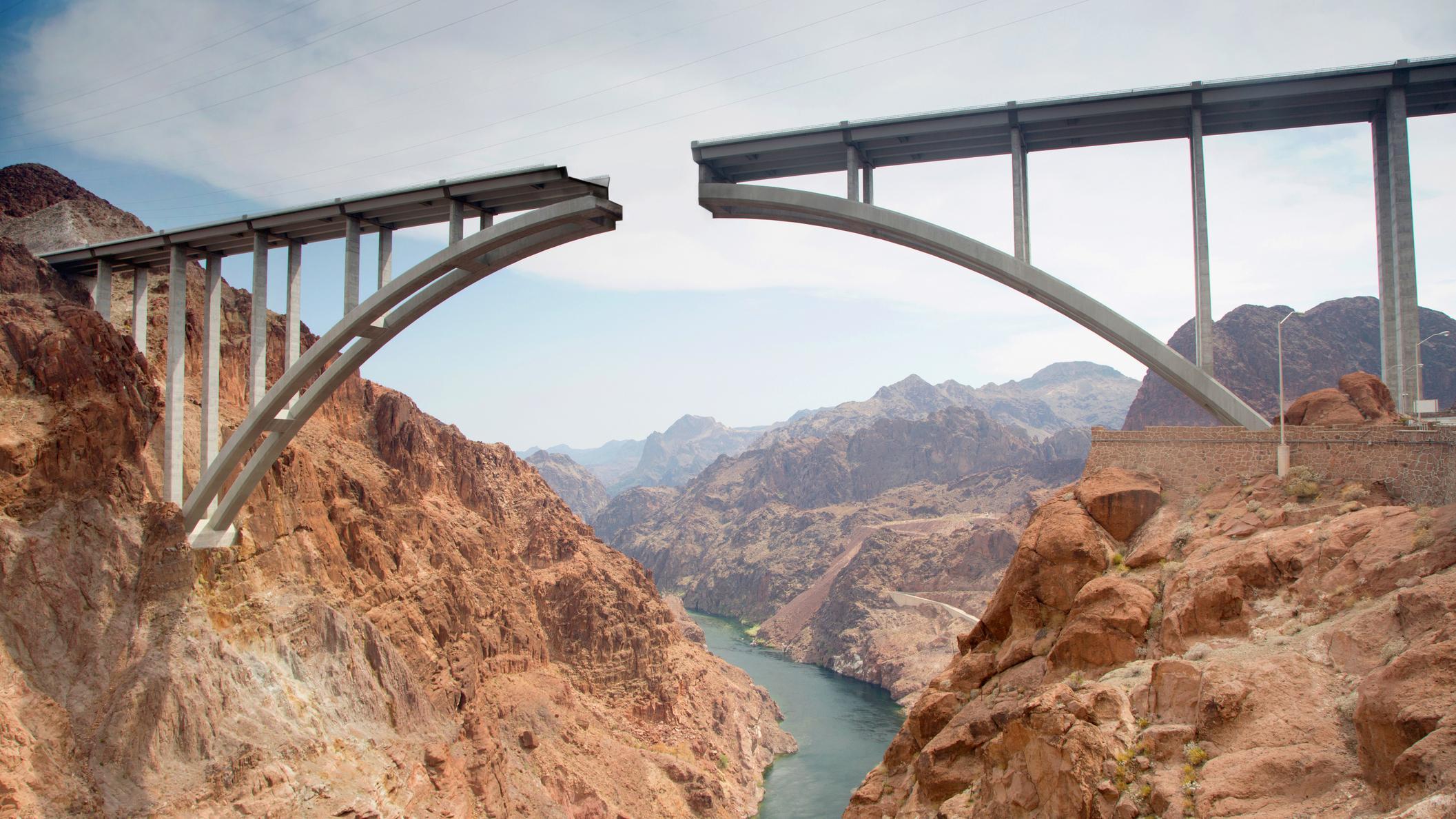 Unfinished bridge