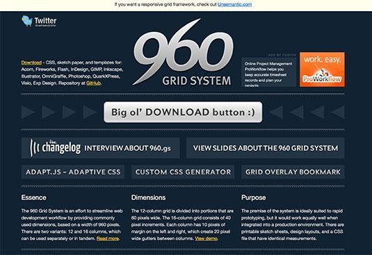 A 960px grid