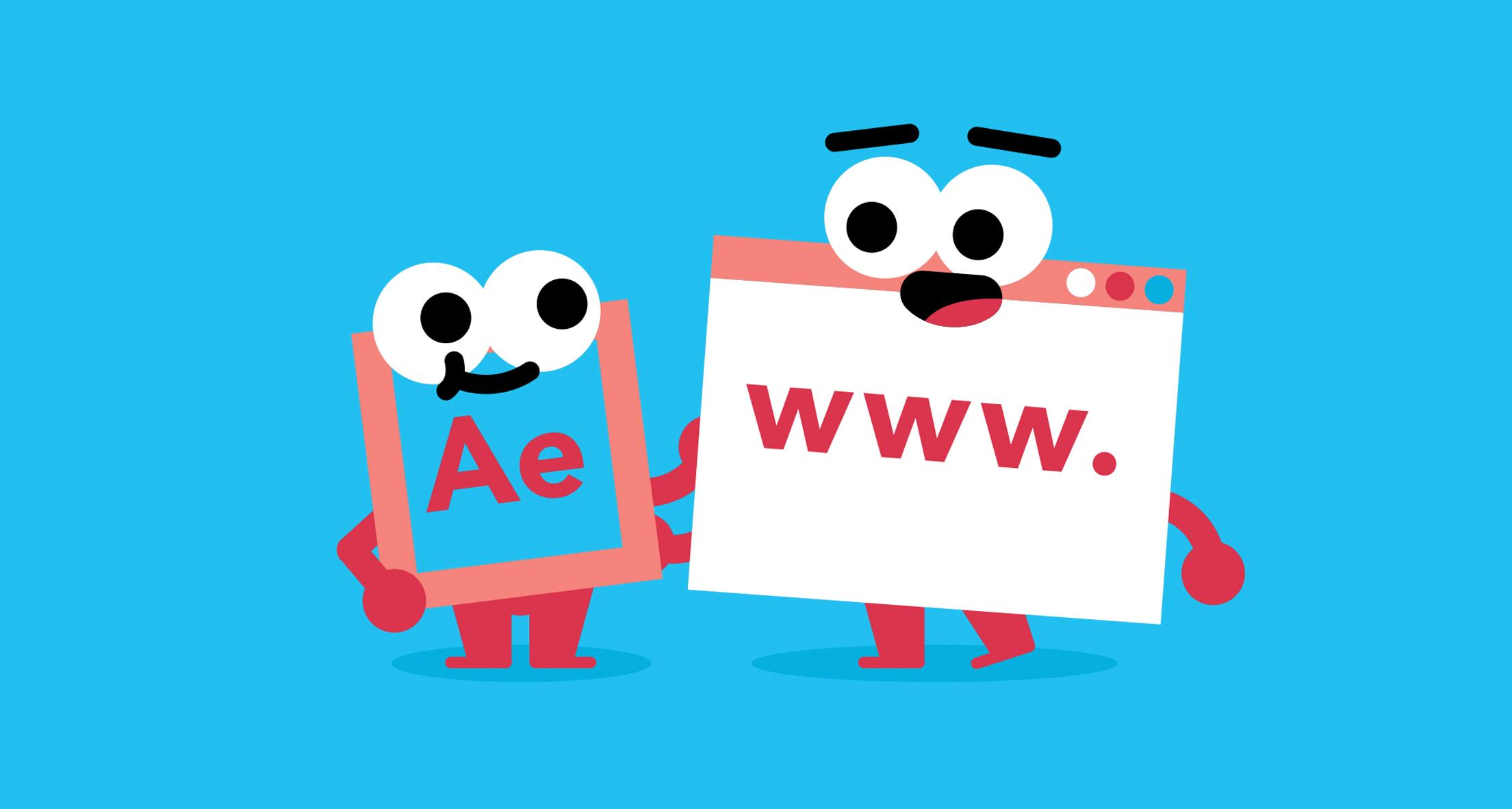 Ae character and www. character