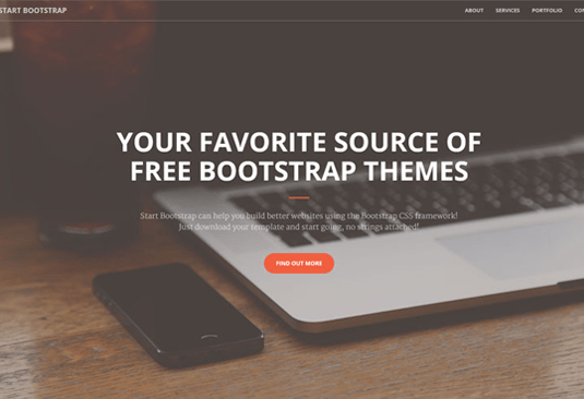 Free Bootstrap themes - Creative