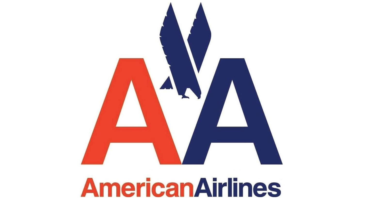 American Airlines logo by Massimo Vignelli