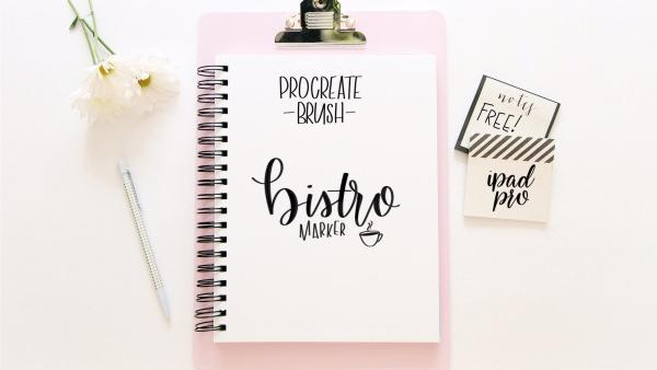 Bistro Marker: Procreate brushes