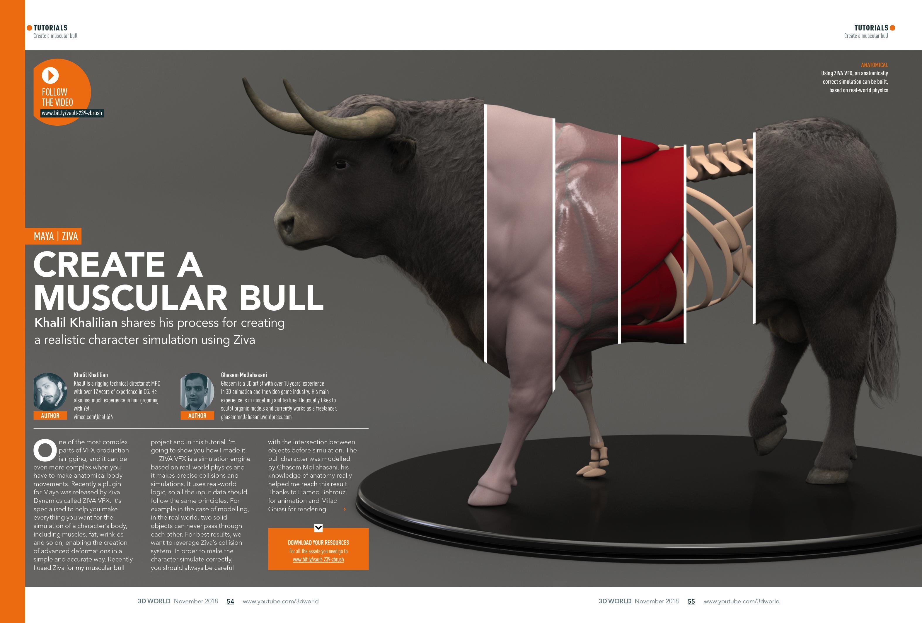 create a bull spread 3D World