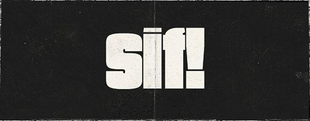 Free retro fonts: Say It Fat