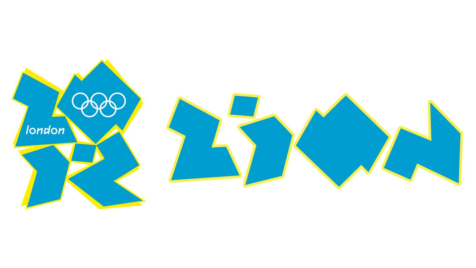 London 2012 logo accused of spelling out 'zion'