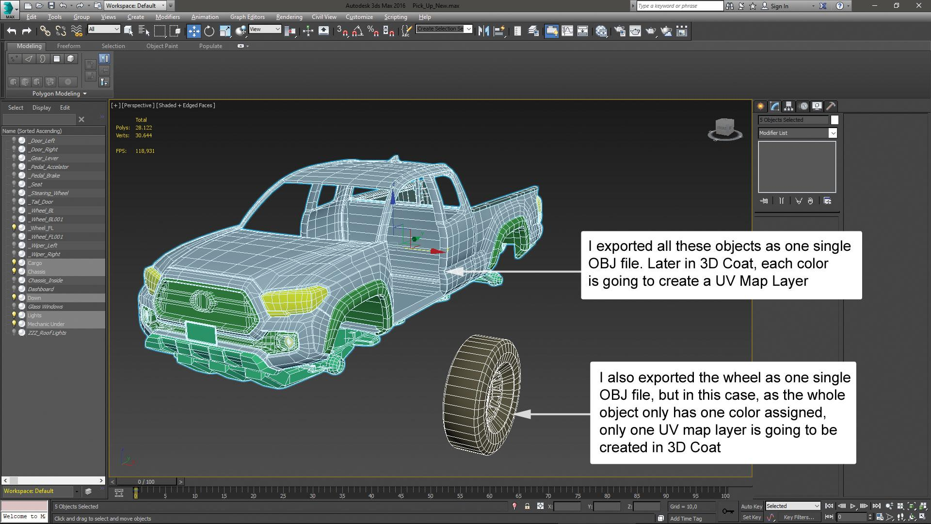 Make vehicle animations with iClone 7: Align the structure with the model