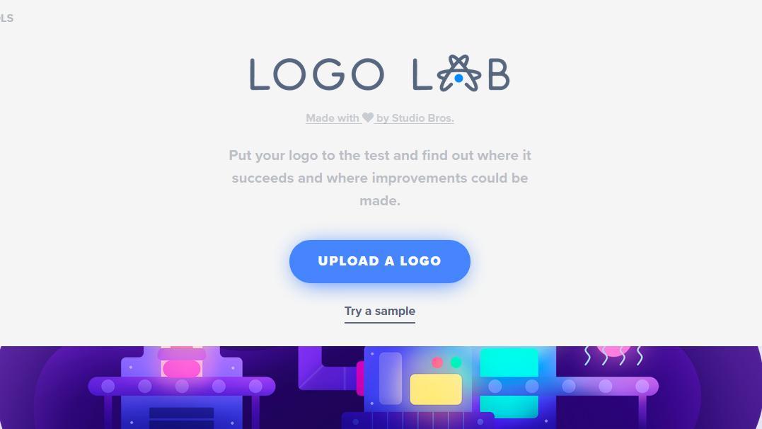 logo lab screenshot