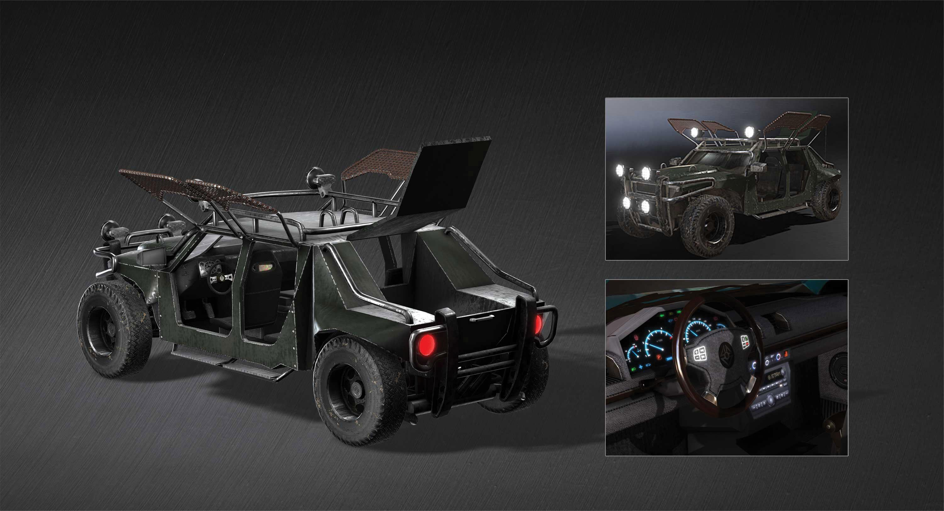 Make vehicle animations with iClone 7: Final considerations