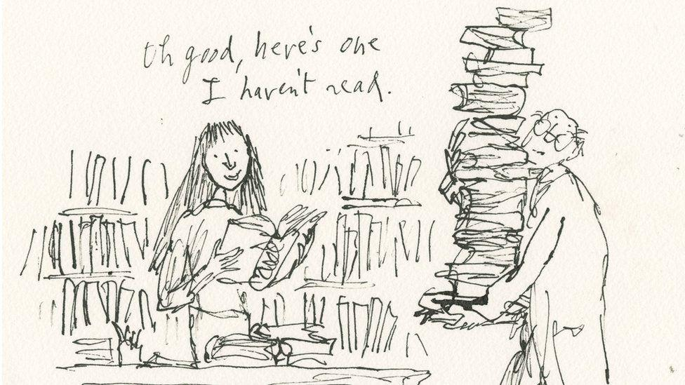 Matilda was always transported away by a good book