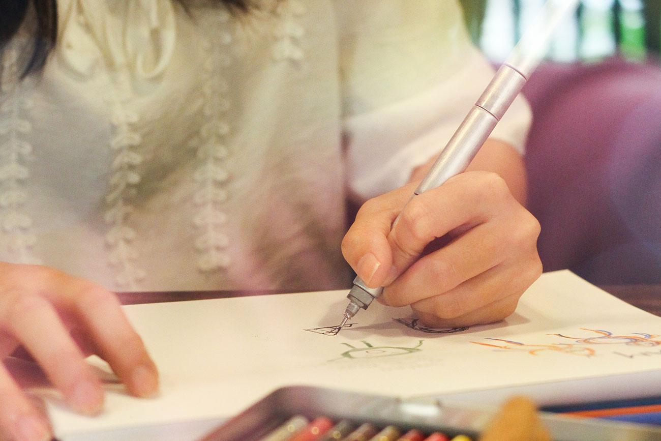 Wright Pen: Illustration