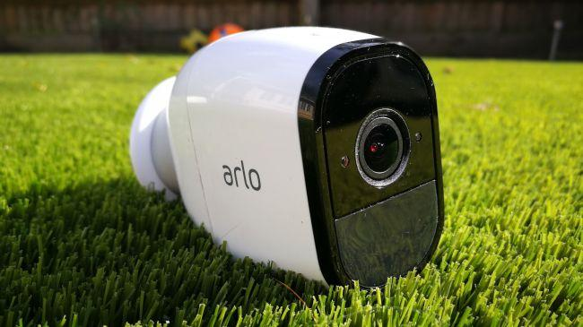 A still image of the Netgear Arlo Pro 2 security system