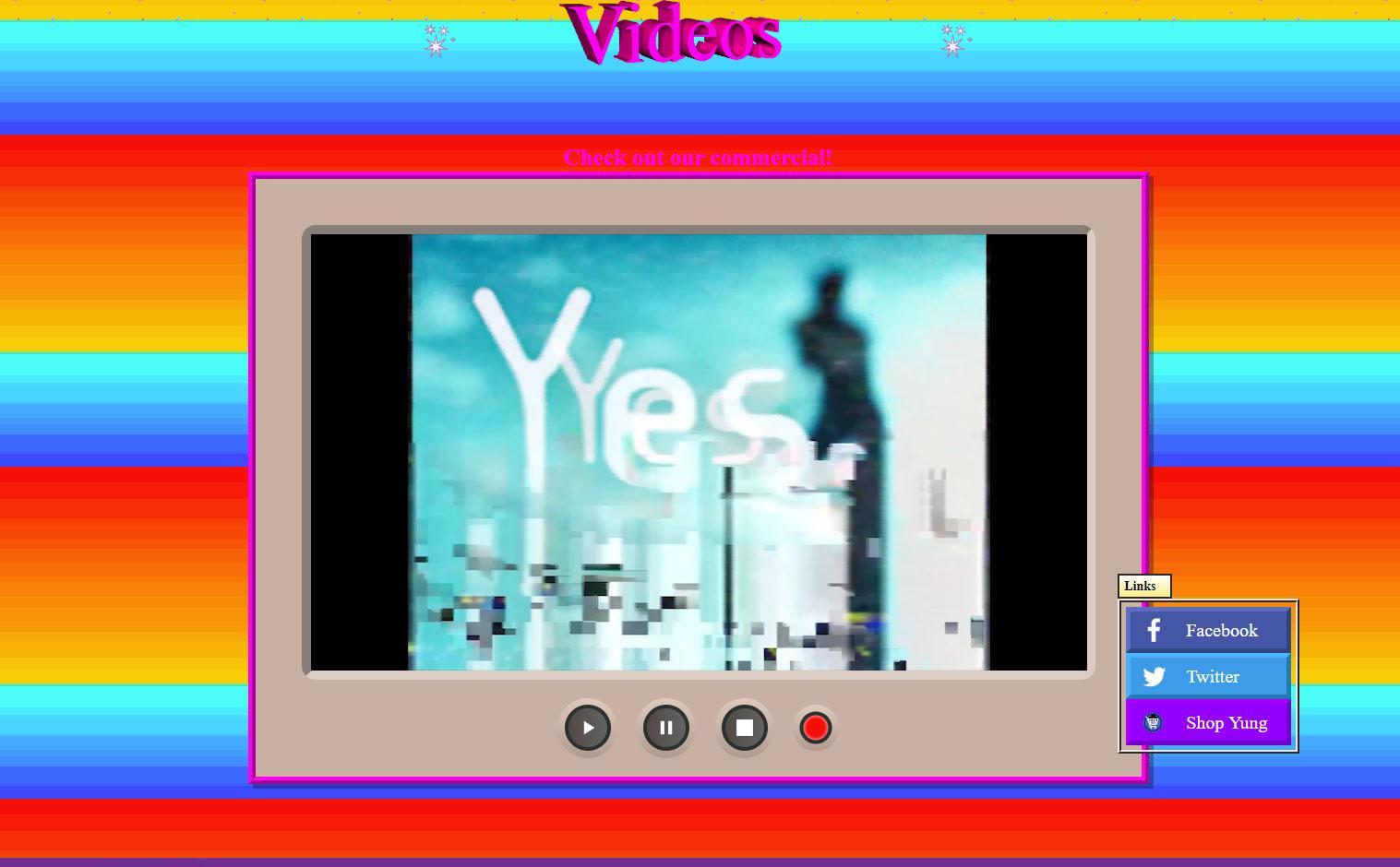 Adidas Yung Series: videos