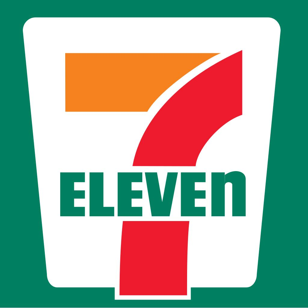 7 Eleven's lowercase 'n'