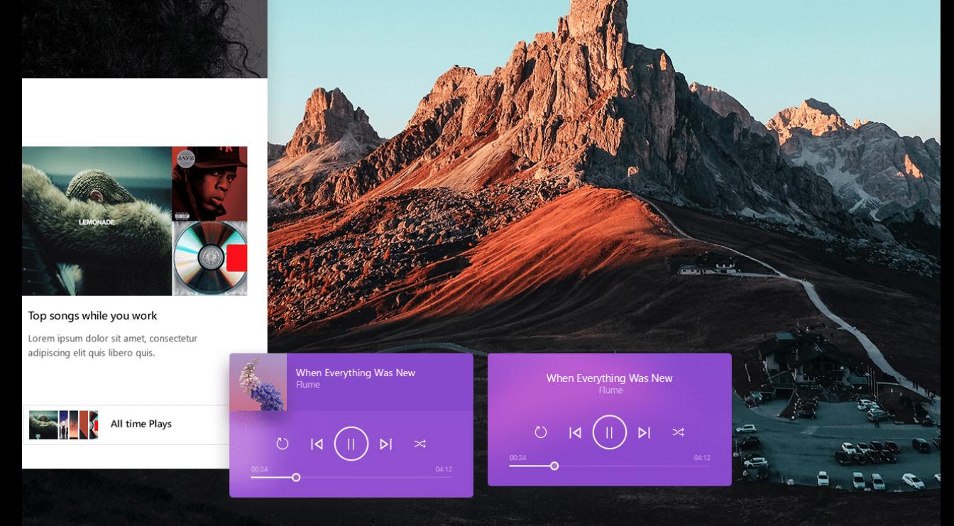 Microsoft Music design