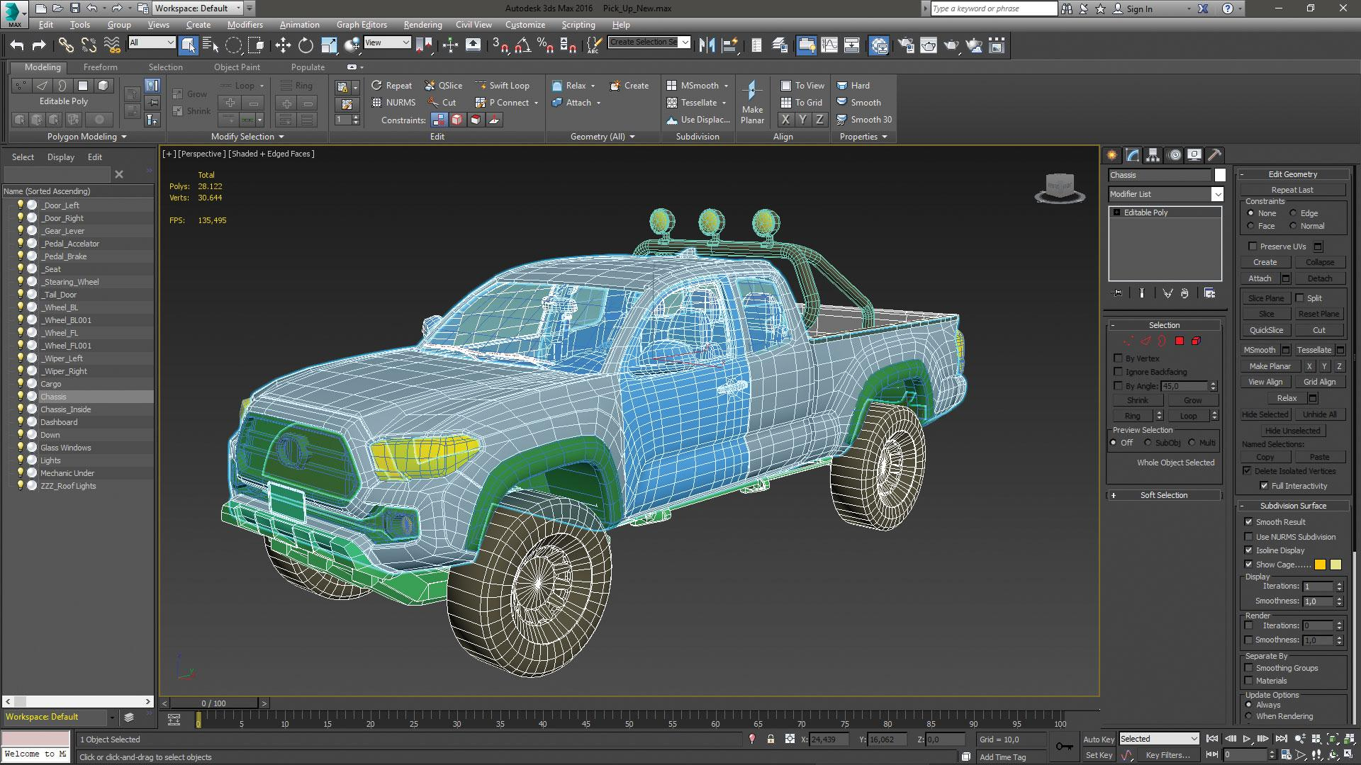 Make vehicle animations with iClone 7: Prepare the car model