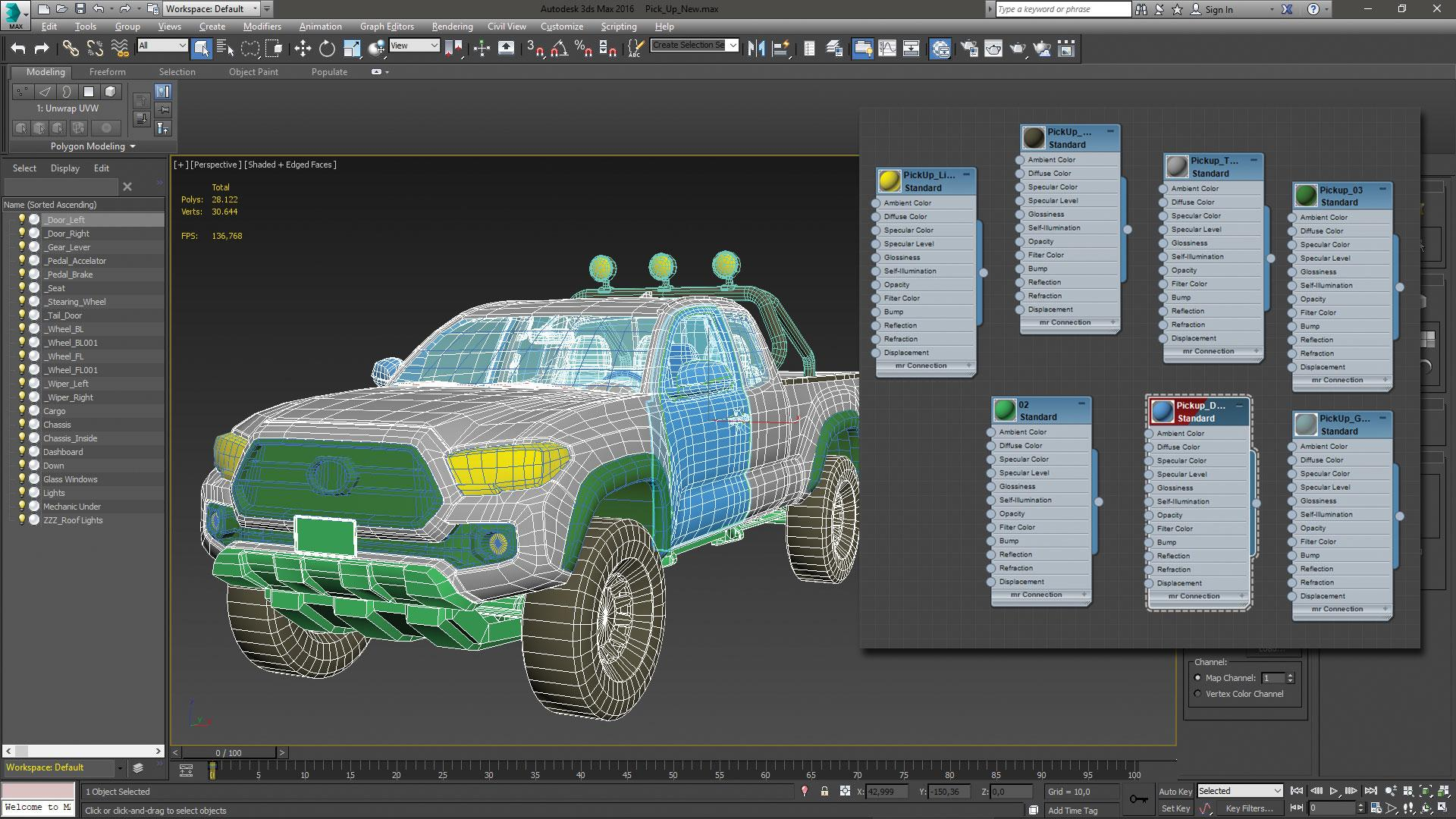 Make vehicle animations with iClone 7: The driving controls