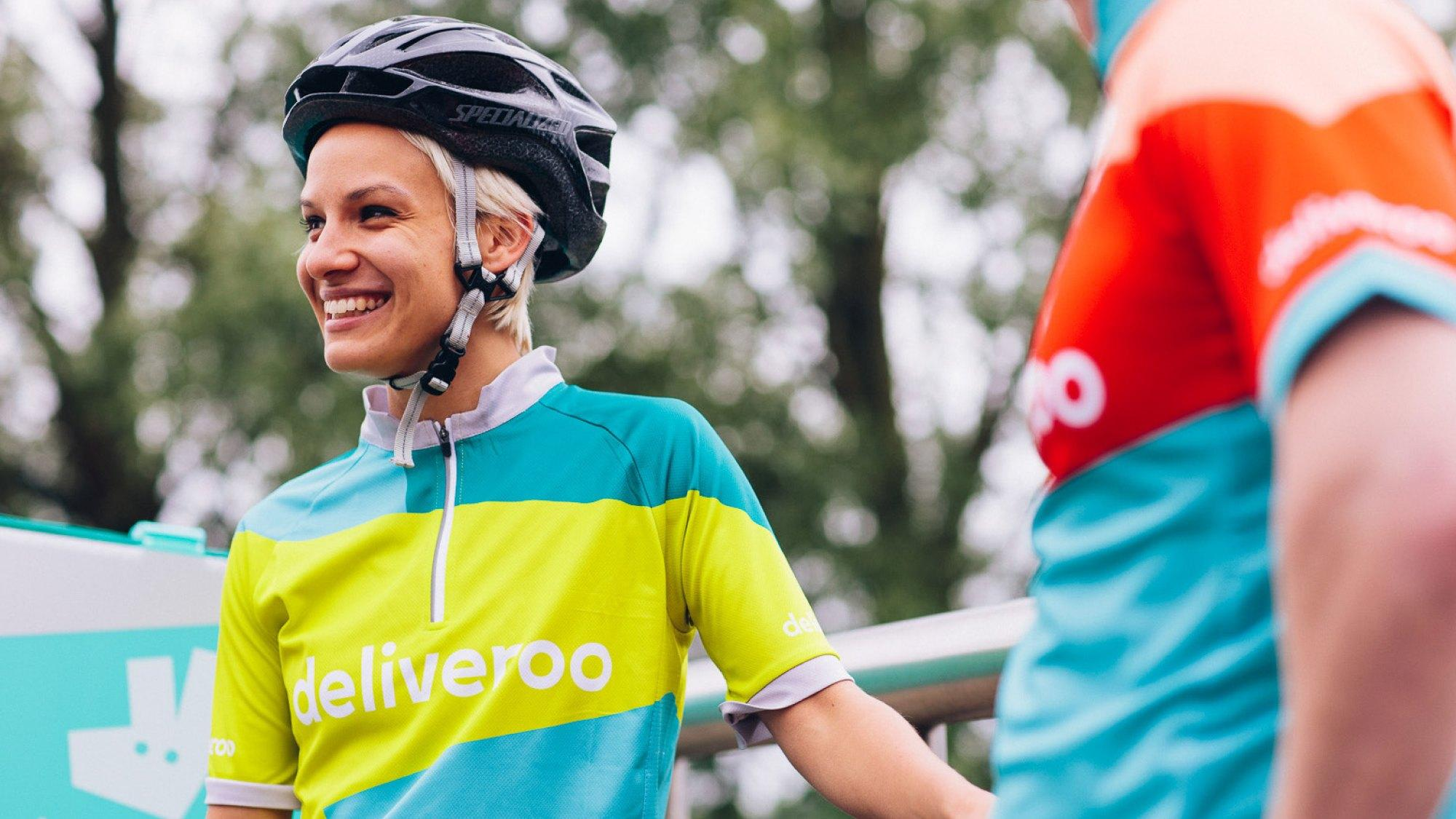 Designers followed Deliveroo drivers for an evening