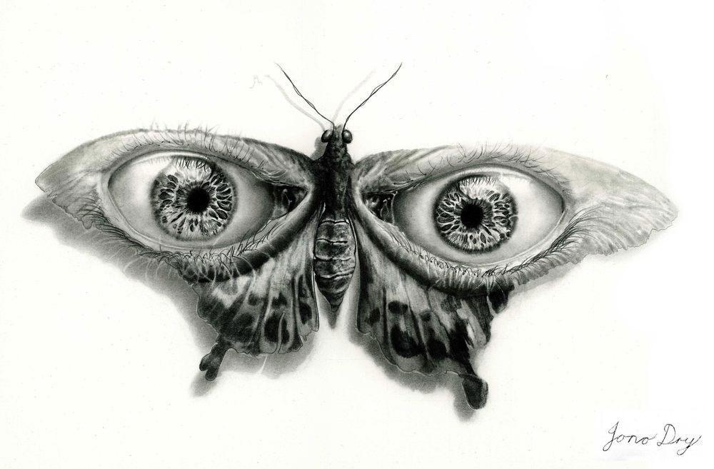 Realistic pencil drawings - Jono Dry