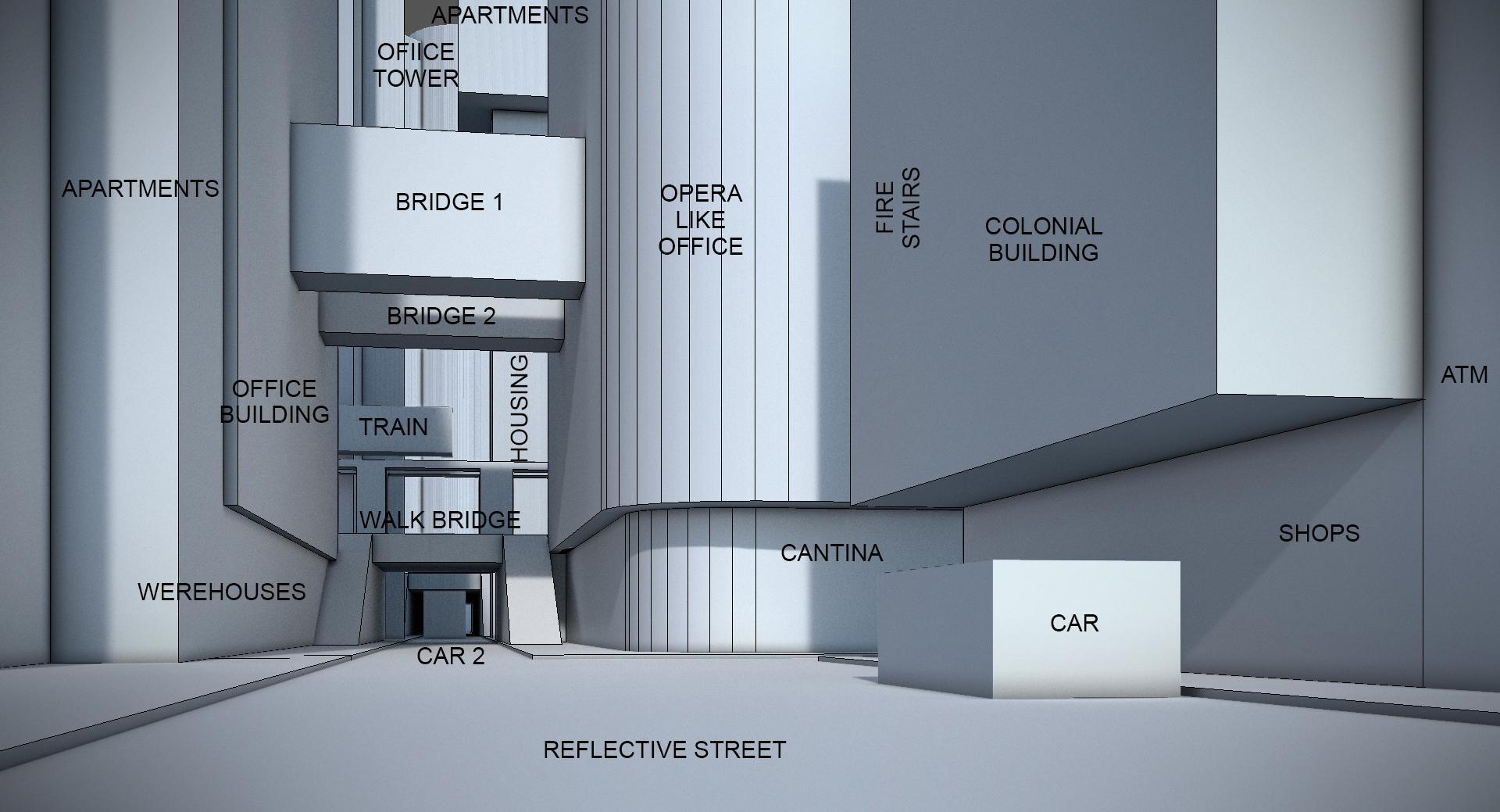 basic plan of scene