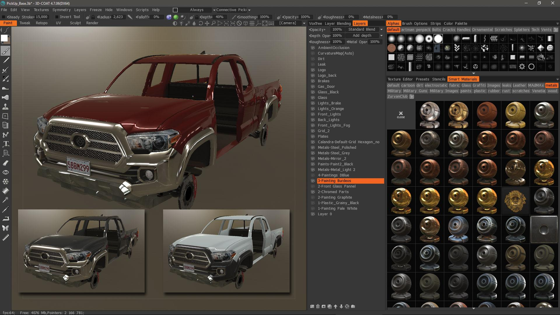 Make vehicle animations with iClone 7: Add a terrain